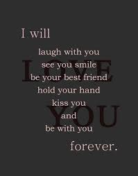 Eternal Love Quotes Adorable Eternal Love Quotes I Will Be With You Forever I Love You My