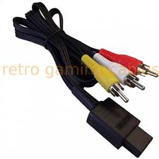 n64 composite video and rgb scart cables nintendo n64 gamecube snes composite av cable