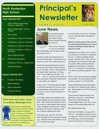 School Newsletter Templates Free Publisher Meetwithlisa Info