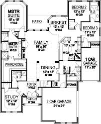 74 best house plans images on pinterest monster house, plan plan House Plans With 3 Car Garage Apartment european style house plans 3167 square foot home, 1 story, 3 bedroom and 3 3 bath, 3 garage stalls by monster house plans plan 3 Car Garage with Apartment Floor Plans