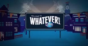 Bud Light Whatever Usa 2017 Bud Light Drinking In America