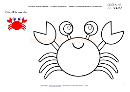 Small Picture Cute Crab Coloring Pages Dalarcon Com Coloring Coloring Pages