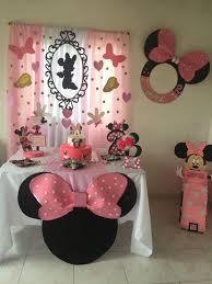 Minniemouse Birthdayparty Themedbirthday Toddlerbirthday