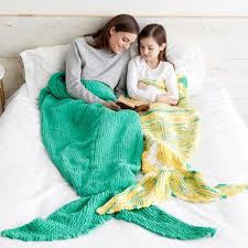 Mermaid Tail Blanket Knitting Pattern Unique Bernat Knit Mermaid Snuggle Sack Adult Yarnspirations