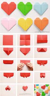 San Valentin Decoration Best 25 Paper Hearts Ideas On Pinterest Valentine Day Crafts