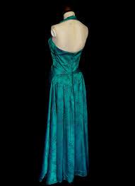 Vintage 1950s Green Brocade Gown – ALEXANDRAKING