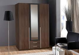 4 Door Cupboard Designs For Bedrooms 7star Bnew German Made Wardrobe In 3 4 Doors Mirrors In Walnut White Bedroom 3 Door 135 Cm Walnut