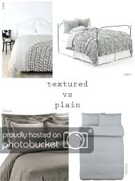 grey textured duvet cover i really love the look of the ruffled and textured duvet covers