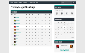 8 Team League Schedule Generator Sportspress Sports Club League Manager Wordpress Org