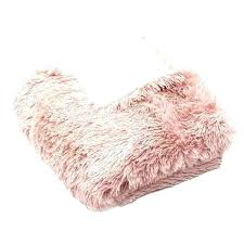 details about light pink faux fluffy sheepskin rug carpet pad fur soft bedroom rugs area post