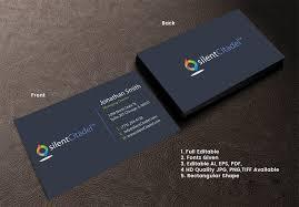 Security Designer Elegant Playful Computer Security Business Card Design For
