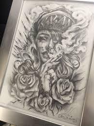 Tattoo Sketch Grummo Max My Sketchs тату татуировки и чикано