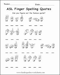 Sign Language Printable Worksheets Unh20 Inspirational American ...