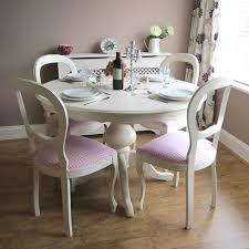 Elegant Shabby Chic Dining Table Hd9b13