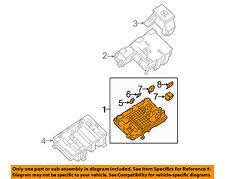 car truck battery cables connectors for gmc savana 3500 gm oem electrical fuse relay junction block 25888290 fits gmc savana 3500