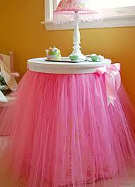 Tutu Table Skirt Ideas