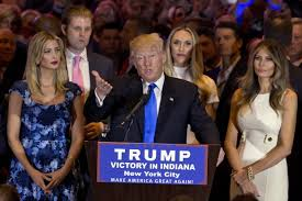 Image result for donald trump and his family