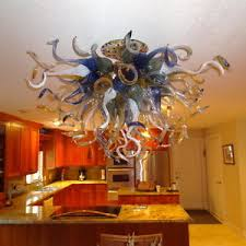 art glass lighting fixtures. Image Is Loading Blown-Glass-Chandelier-Lighting-Art-Glass-Lighting-Amber- Art Glass Lighting Fixtures