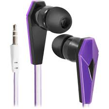 In-ear headphones <b>Defender Trendy 705</b> black + lilac