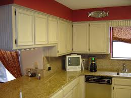 Honey Oak Kitchen Cabinets in demand red wall painted feat white marble countertops as well 2089 by xevi.us