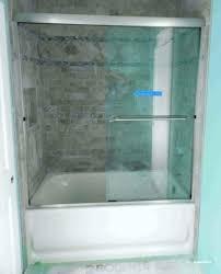 bathtub doors modern bathtub door installation
