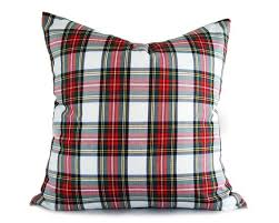 Plaid Christmas Pillow Covers