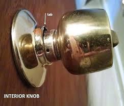 remove door handle faceplate remove door need to remove old door remove round door