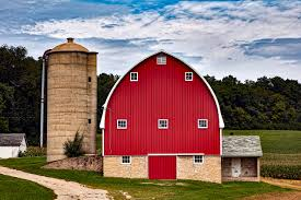 view of a barn that has been converted into a house to represent barn conversion insurance