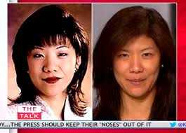 julie chen no makeup photo 2