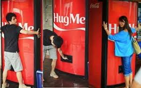 Free Coke Vending Machine Simple CocaCola Has Created A Vending Machine Which Gives Out Free Cans Of