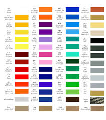 Audi A3 Colour Chart 37 Methodical Volkswagen Golf Colour Chart