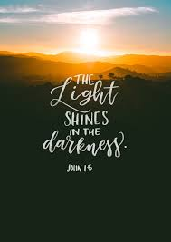 Mercy And Grace The Light Shines In The Darkness And The