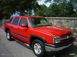 2006 Victory Red Chevrolet Avalanche Z71 4x4 #14212995   GTCarLot ...