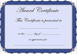 Award Certificate Template Free 28 Images Of Free Award Certificate Template Leseriail Com