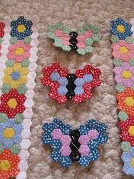 Best 25+ Hexagon quilt ideas on Pinterest   Hexagon quilt pattern ... & Hexagons: Tiny Butterfly Garden Hexagon Quilt   Flickr - Photo Sharing! Adamdwight.com