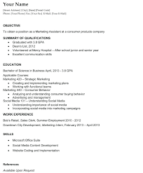 Basic Resume Objective Resume Basic Resume Objective 16