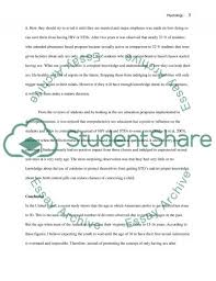 abstinence only sex education essay example topics and well text