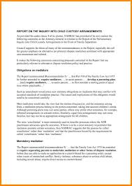 Template Template For Child Custody Agreement Example Fresh Sample