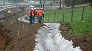 drainage ditch drainage waterproofing membrane roll cement ditch lining
