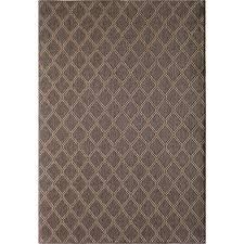 hampton bay diamond gray 5 ft x 7 ft indoor outdoor area rug