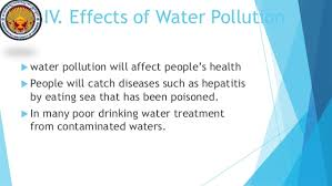 water pollution slide eschooltoday com 15 iv effects of water pollution