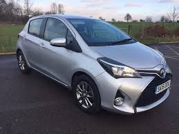 Toyota Yaris 2015 Silver CVT 1.3 5 Door AUTOMATIC - Low mileage ...