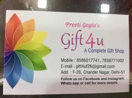 gift 4 u photos chandar nagar delhi gift s