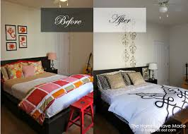 Bedroom Makeover Before And After Gorgeous Pics Small
