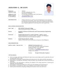 Updated Resume Examples Mesmerizing Updated Resume Examples Jospar Updated Resume Examples Best Resume