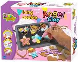 <b>Angel</b> Clay Игровой <b>набор</b> массы для <b>лепки</b> Icing Cookies ...