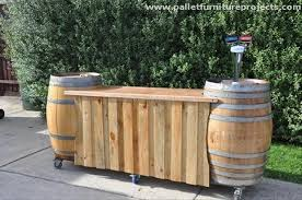 diy pallet patio bar. Full Size Of Home Design:extraordinary Pallet Outdoor Bar Wood Design Large Diy Patio