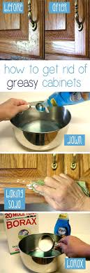 learn all about how to clean old grease off kitchen cabinets from