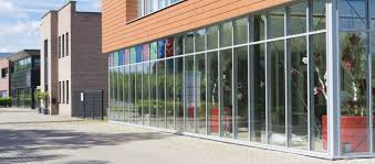 commercial front glass installation or replacement
