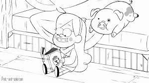 Gravity Falls 003 For Gravity Falls Coloring Pages Coloring Pages